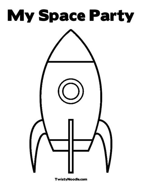 real rocket coloring pages - photo#23