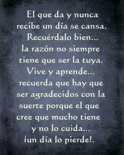 Reflexiones !!!