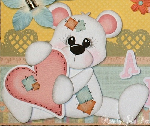 """""""A Patchwork of Love"""" premade scrapbook pages.  Available on ebay here:  http://www.ebay.com/itm/300840756658?ssPageName=STRK:MESELX:IT&_trksid=p3984.m1555.l2649"""