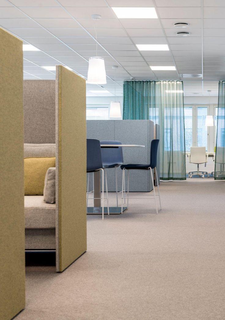 På unit4s nya huvudkontor har man lyckats leva upp till ledorden uppkopplad avkopplad