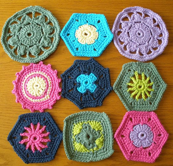 One of a Kind Handmade Crochet Doilies by ArmCandySquared on Etsy, $1.99