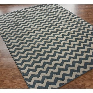 This rug is so cheap and I love the chevron...maybe I'll try it for a bit to see how it pulls the room together...