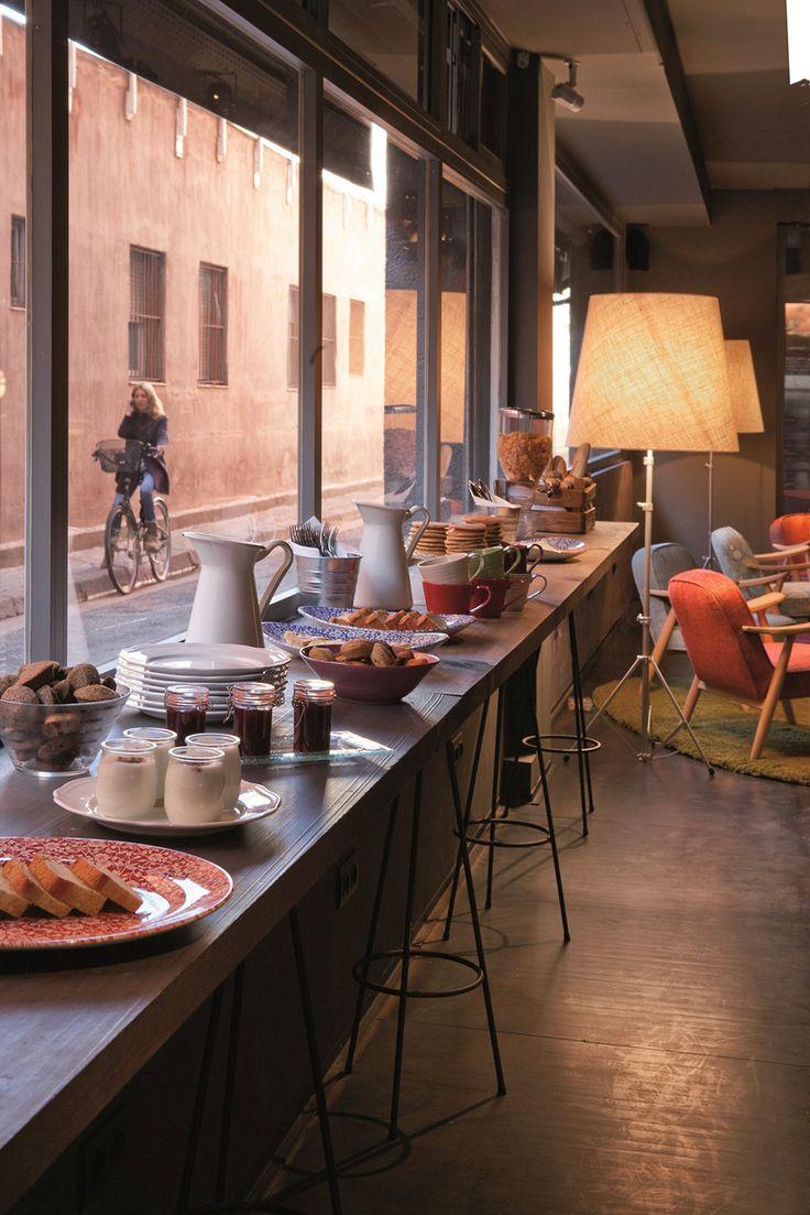 Breakfast at Hôtel Chic & Basic Ramblas In Barcelona | Spain