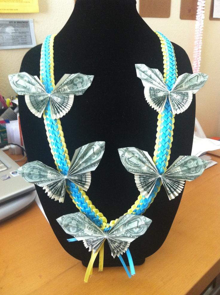 16 Best Ribbon Leis Images On Pinterest Graduation Leis