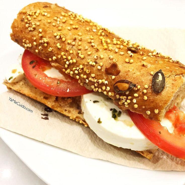 Buenos días!! Vamos a recargar un poquito de energía   Bocadillo de pan integr… – Mis Recetas
