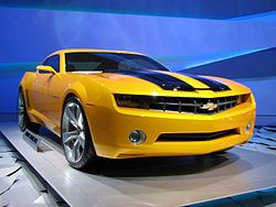 Transformers (film) - Wikipedia, the free encyclopedia  Bumble Bee My favorite!!