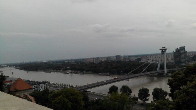 Danube River...view from the castle, Bratislava