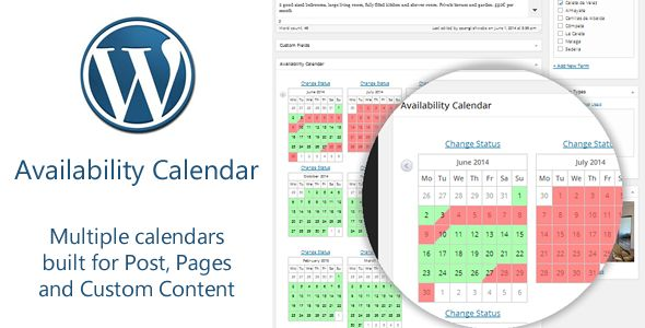Availability Calendar and Pricing Table Plugin  #codecanyon