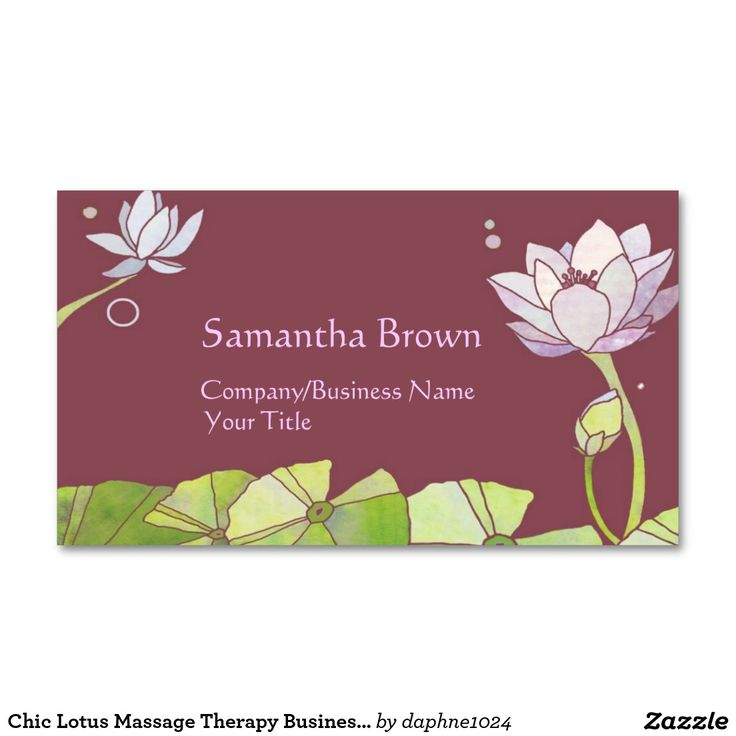 The 25+ best Massage therapy business cards ideas on Pinterest ...