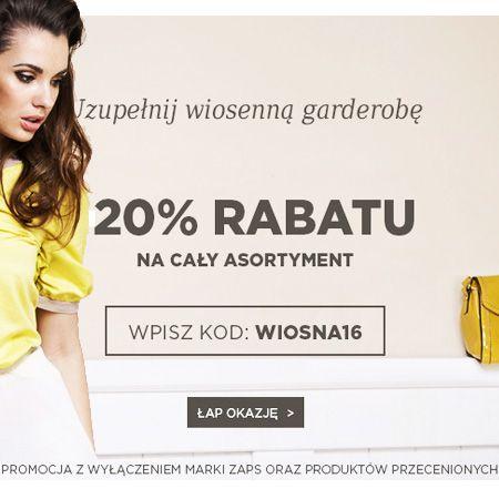 Kod Rabatowy do JesteśModna -20% na cały asortyment