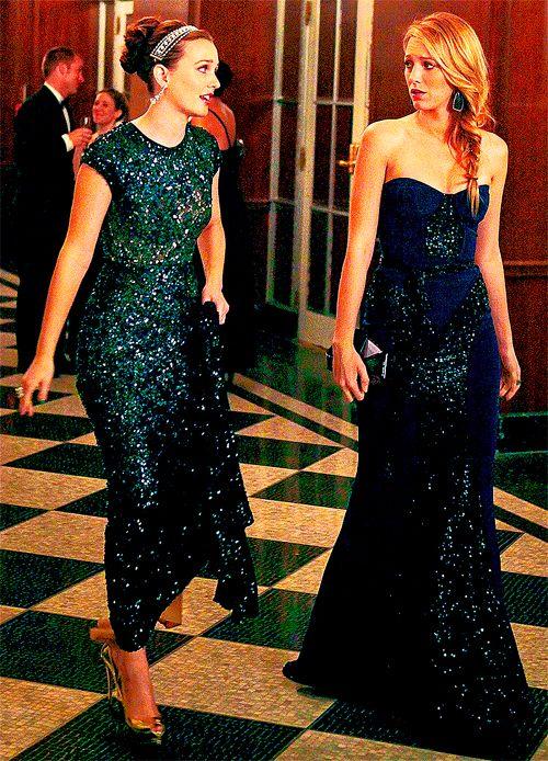 Blair and Serena #GossipGirl