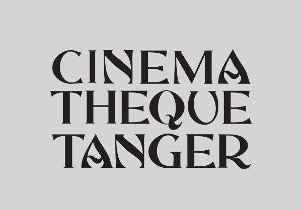 Andrea Hyde - Cinémathèque Tanger exhibition identity