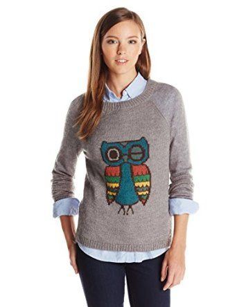 Woolrich Women's Motif Mohair Crew Sweater from $17.99 by Amazon BESTSELLERS