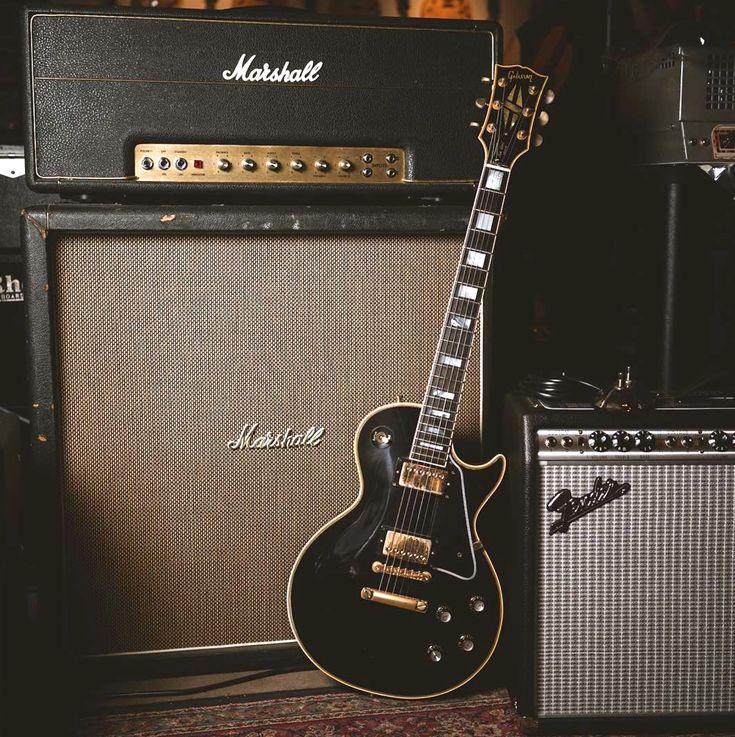 Custom Gibson Les Marshall Wallpaper Paul Amp