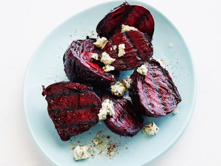 Grilled Beets : Put them in foil pouches with a little olive oil and grill till soft, then peel. Or throw peeled, halved beets on the grill just to char. via Food Network