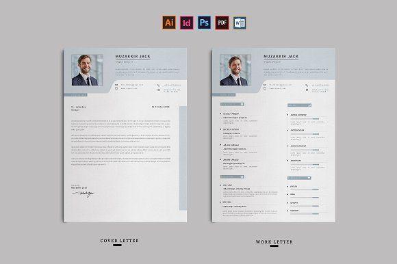 Resume by Ahsanjaya on @creativemarket