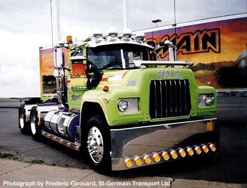 R Model Mack Show Truck : Mack r model show truck google search trucks