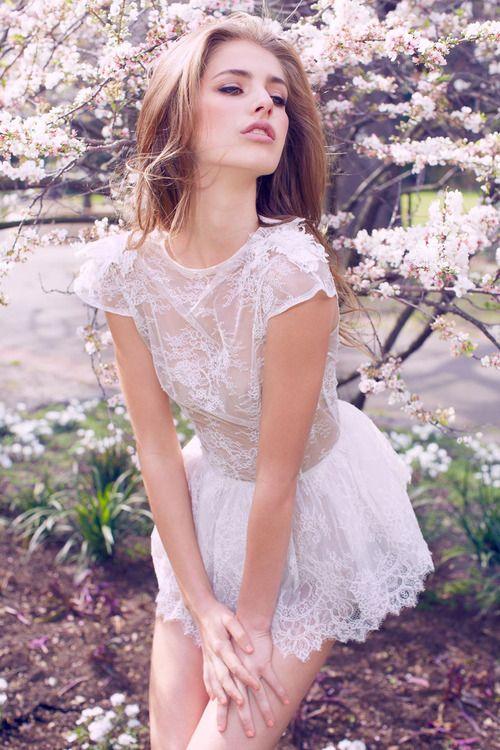 White Dress Beauty
