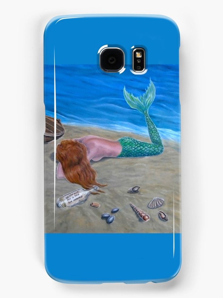 Galaxy Case,  mermaid,aqua,blue,fantasy,cool,beautiful,unique,trendy,artistic,unusual,accessories,for sale,design,items,products,ideas,redbubble