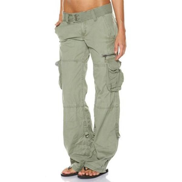 Hip Hugger Comfy Cargo Casual Pants Abworthy Cargo Pants Women Women Cargos Cool Outfits
