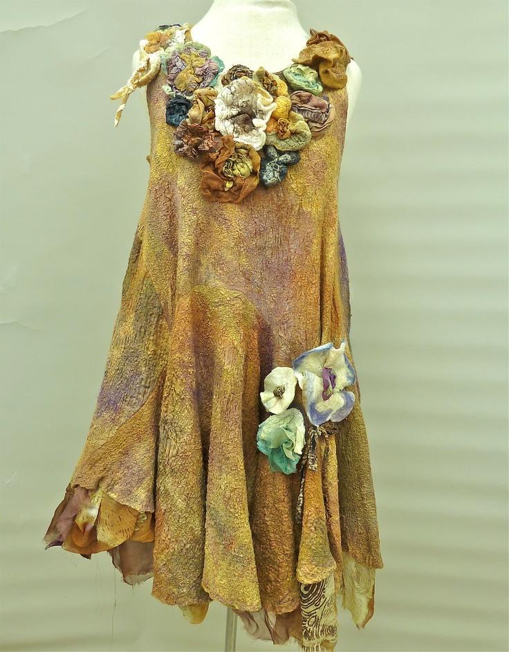 Nuno Felted Dress by a mano studios