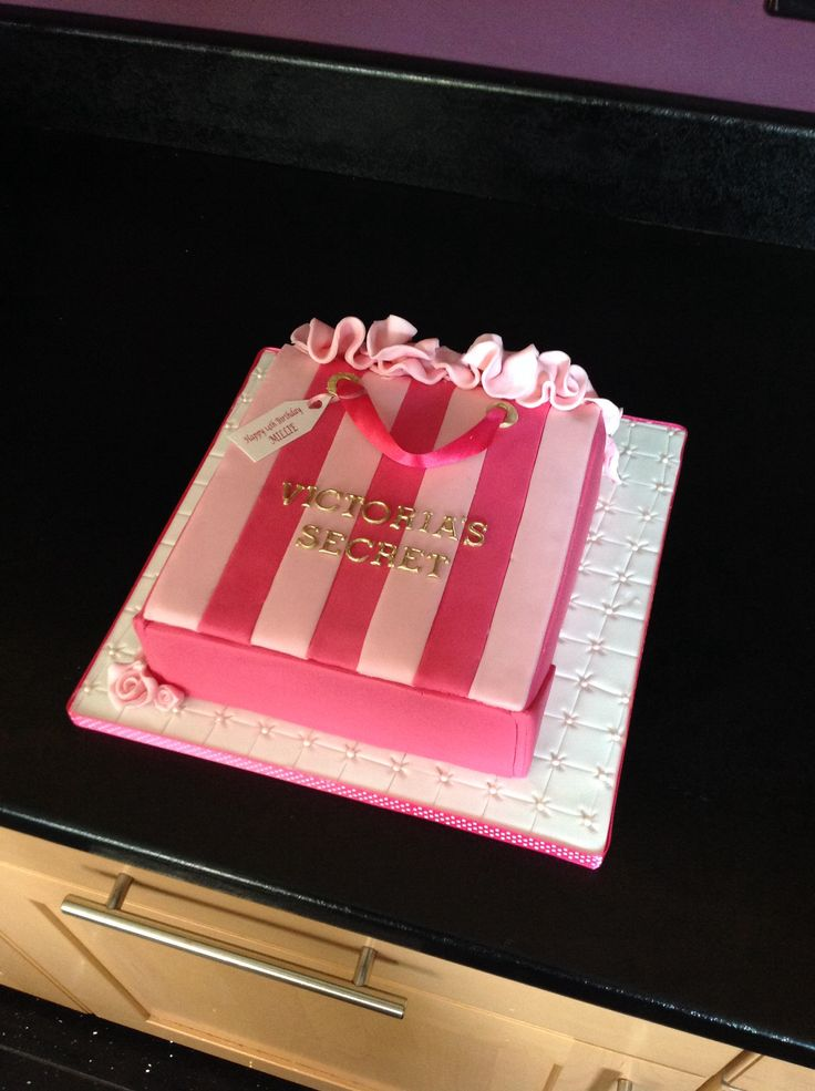 Victoria's Secret cake ( not my design )