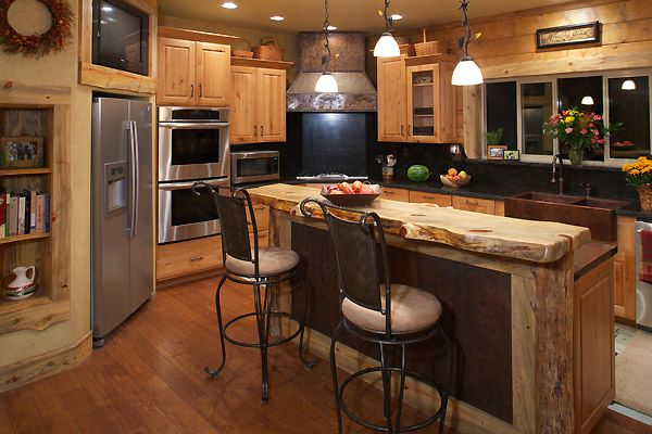 Amazing wood kitchen counter top crazy house ideas for Crazy kitchen ideas