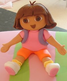 how to make a dora fondant figurine - Google zoeken