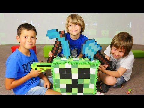 #Çocukvideoları Eren özel oyuncak silahlar üretiyor. Türkçe izle! Erkek çocuk oyunları - YouTube
