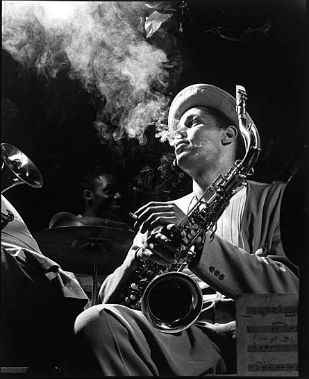 Dexter Gordon (photo Herman Leonard 1948)