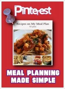 Dr. Melanie Wilson shares about Pinterest meal planning