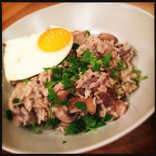 Basmati with Mushrooms and Egg