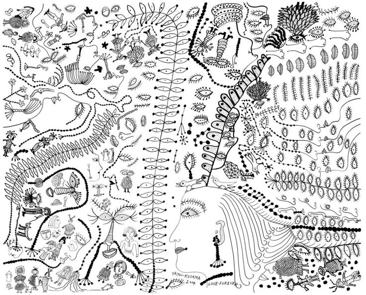 fyayoi kusama - little mermaid