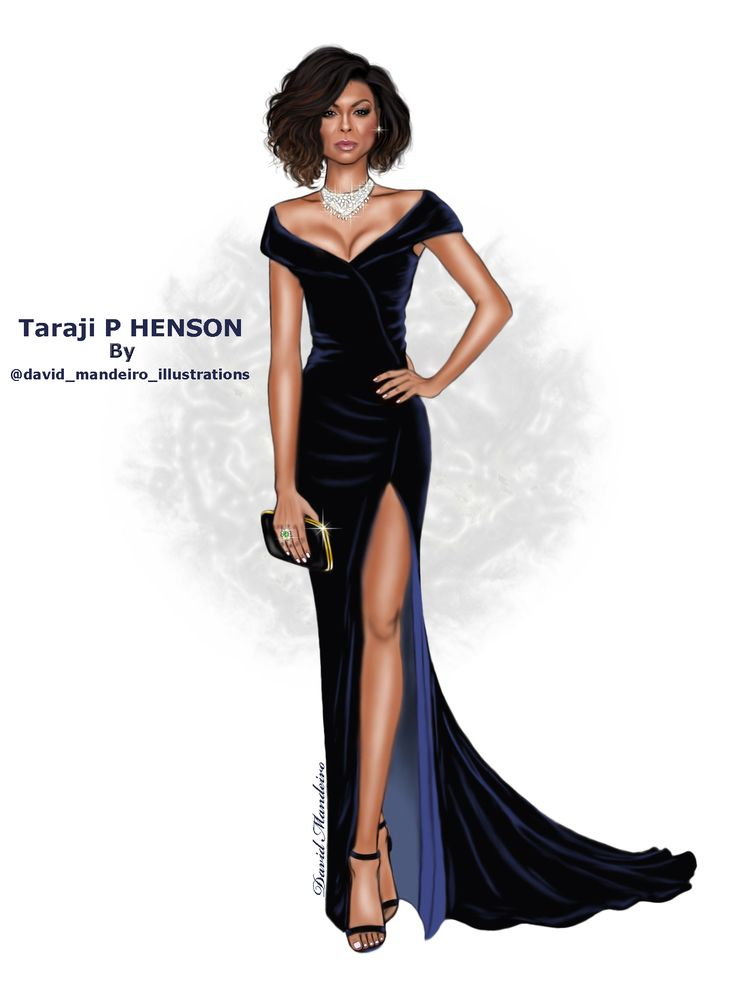 Taraji P. Henson in ALBERTA FERRETTI - official page at the #Oscars2017 #digitaldrawing by @david mandeiro illustrations #TarajiPHenson #AlbertaFerretti #fashionblogger #digitalart #Wacom #AdobePhotoshopElementsEditor #Hautecouture