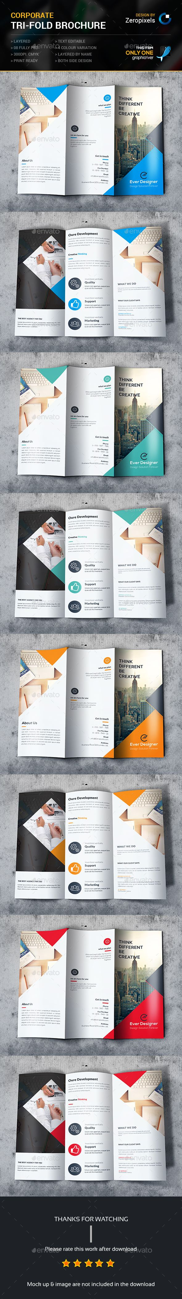 Tri-fold Brochure Template PSD. Download here: http://graphicriver.net/item/trifold-brochure/15277101?ref=ksioks