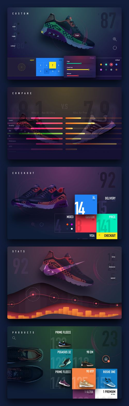 50 Innovative Material Design UI Concepts with Amazing User Experience - 47