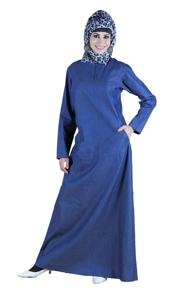 This abaya is perfect for casual wear!