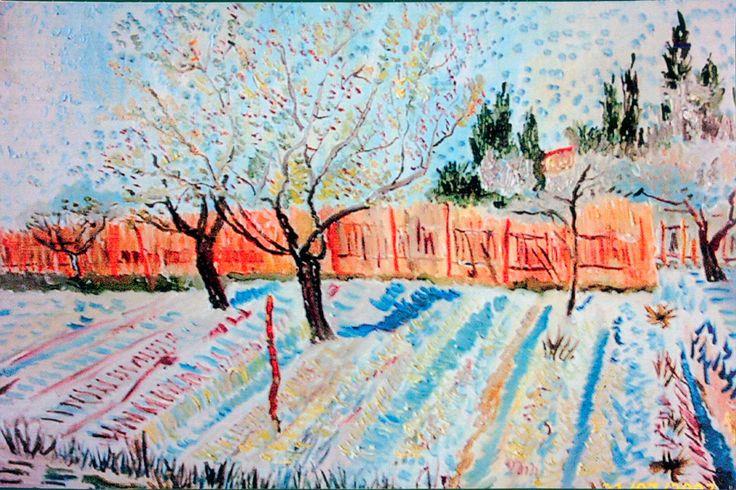 Van Gogh Frühlingsgarten