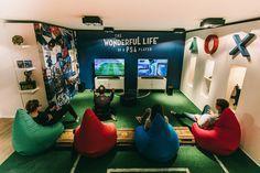 Une salle de jeux rien quà soi : de nombreux gamers en rêvent mais par man