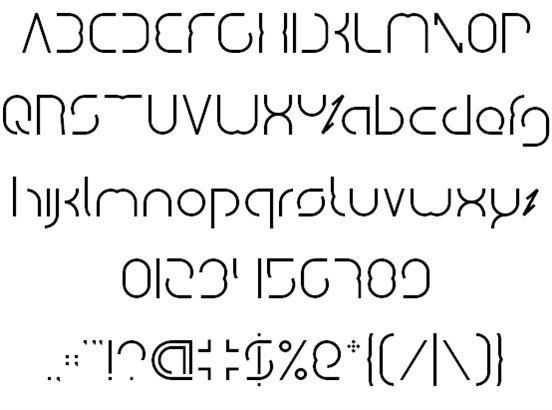 Image for dismecha font