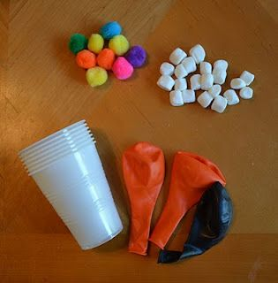 Marshmellow Launcher: The kids LOVED it.  They especially loved shooting for certain targets.  The plastic cups pictured worked best when doubled as instructed.  I tried a different typical bday party cup and it bent too easily. Said another pinner