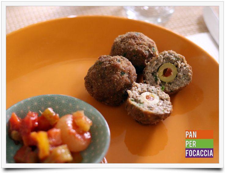 Polpette di carne con olive