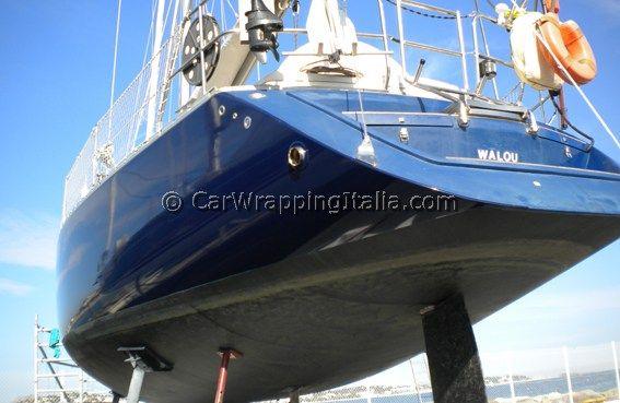 Barca decorata con Oracal 970 e 951