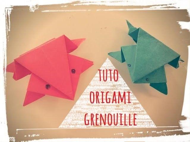 Les 25 meilleures id es de la cat gorie grenouille d 39 origami sur pinterest origans facile pour - Origami grenouille sauteuse pdf ...