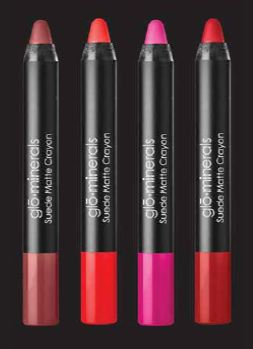 The new Suede Matte Crayon Collection