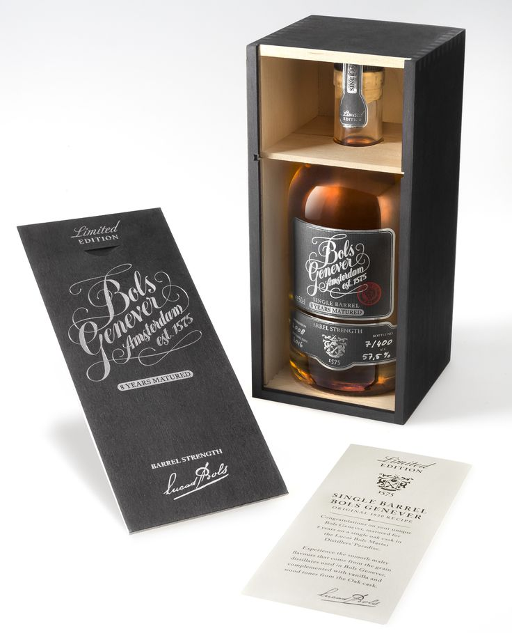 Bols Single Barrel Genever (Dutch Gin) — The Dieline - Branding & Packaging Design