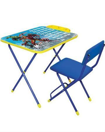 Marvel Marvel 2 Команда Мстители голубой  — 1221р. ------------- Набор мебели Marvel 2 Команда Мстители голубой Ника детям - первое рабочее место для дошкольника в возрасте 3-7 лет. В комплекте - стул и стол, которые можно компактно сложить.