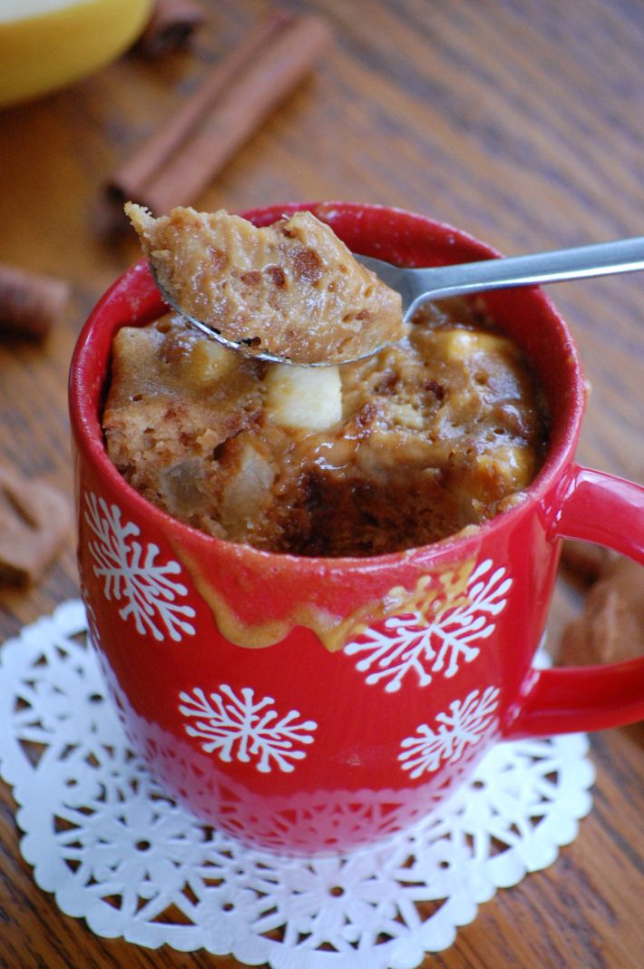 mug cake speculos & pommes