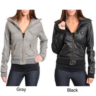 Stanzino Women's Aviator Jacket | Overstock.com