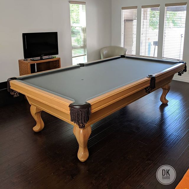 Finished Installing This 1994 9 Olhausen Pool Table In Irvine Pool Table Was Brought Here From Colorado We Re Olhausen Pool Table Pool Table Pool Table Room